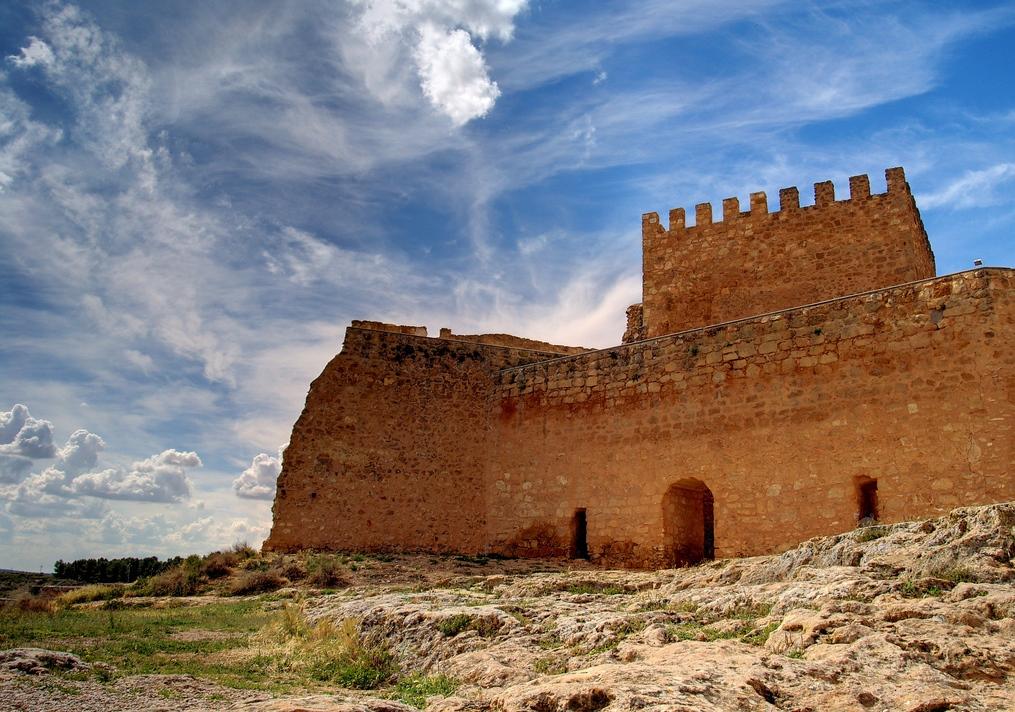 Castillo de Peñarroya. Autor, Michel Hernández