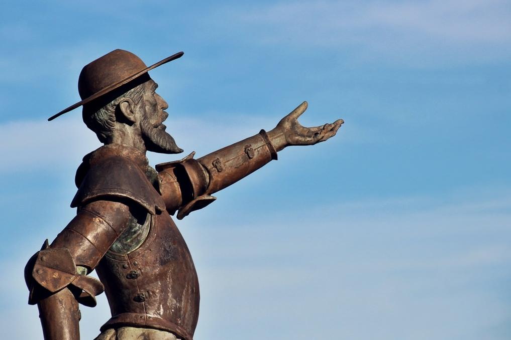 Don Quijote. Autora, Ana López Heredia
