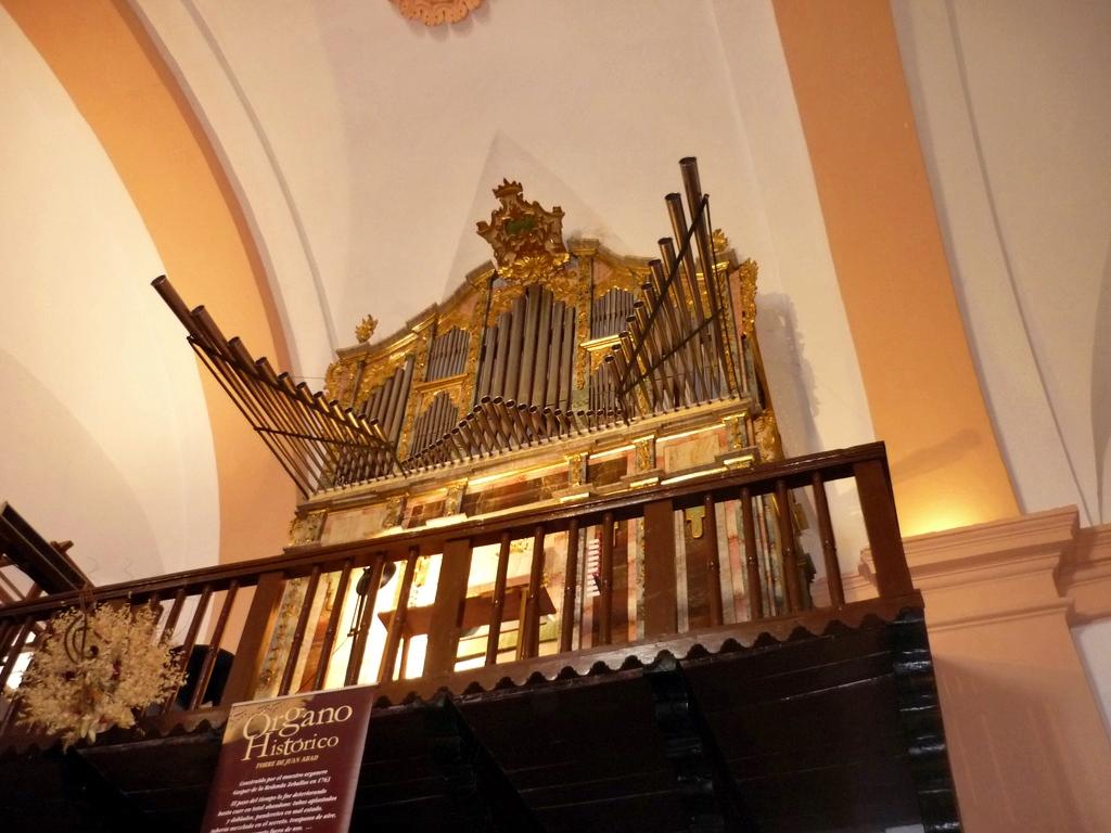Órgano de Torre de Juan Abad. Autor, desconocido