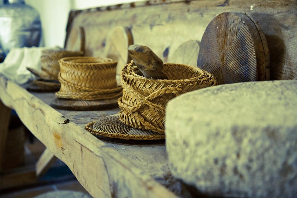 Pleita para hacer queso. Autora, Berta Mancebo