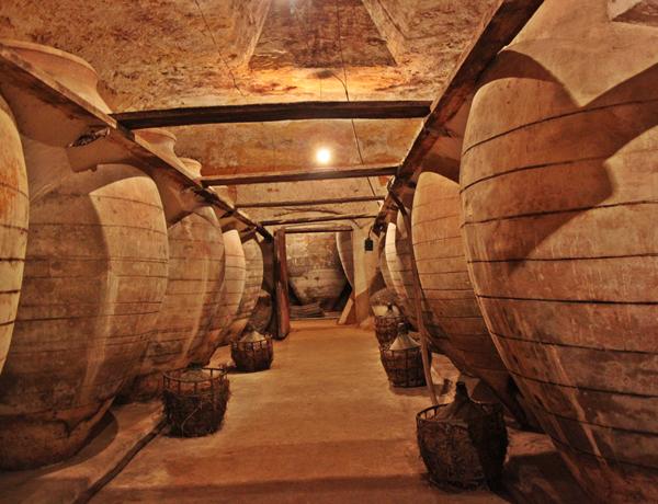 Antigua cueva - bodega de Tomelloso