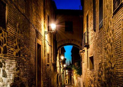 Ruta nocturna por Toledo