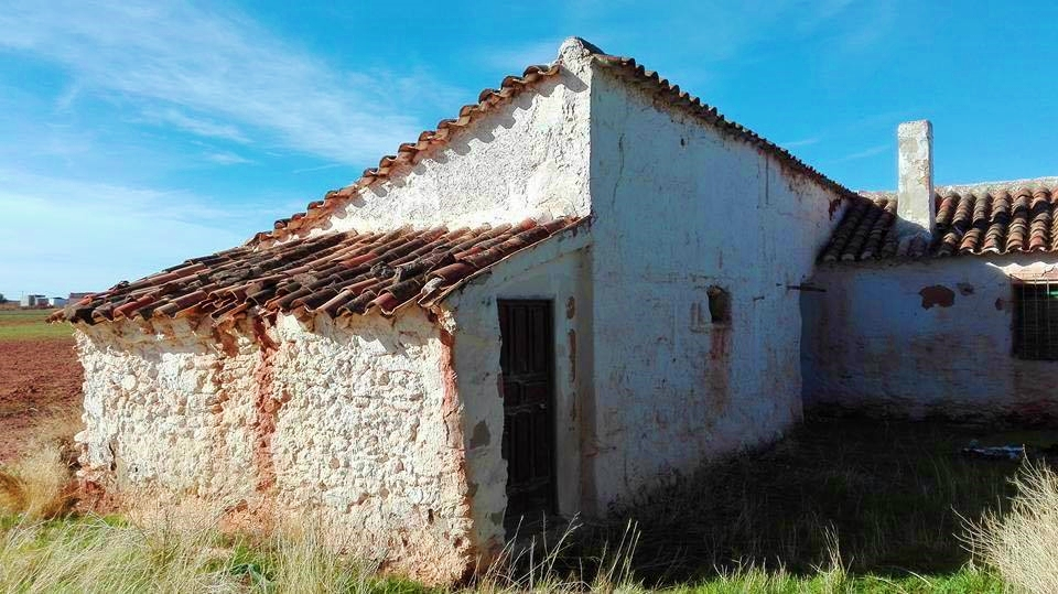 La casa de un hortelano en el Campo de Montiel