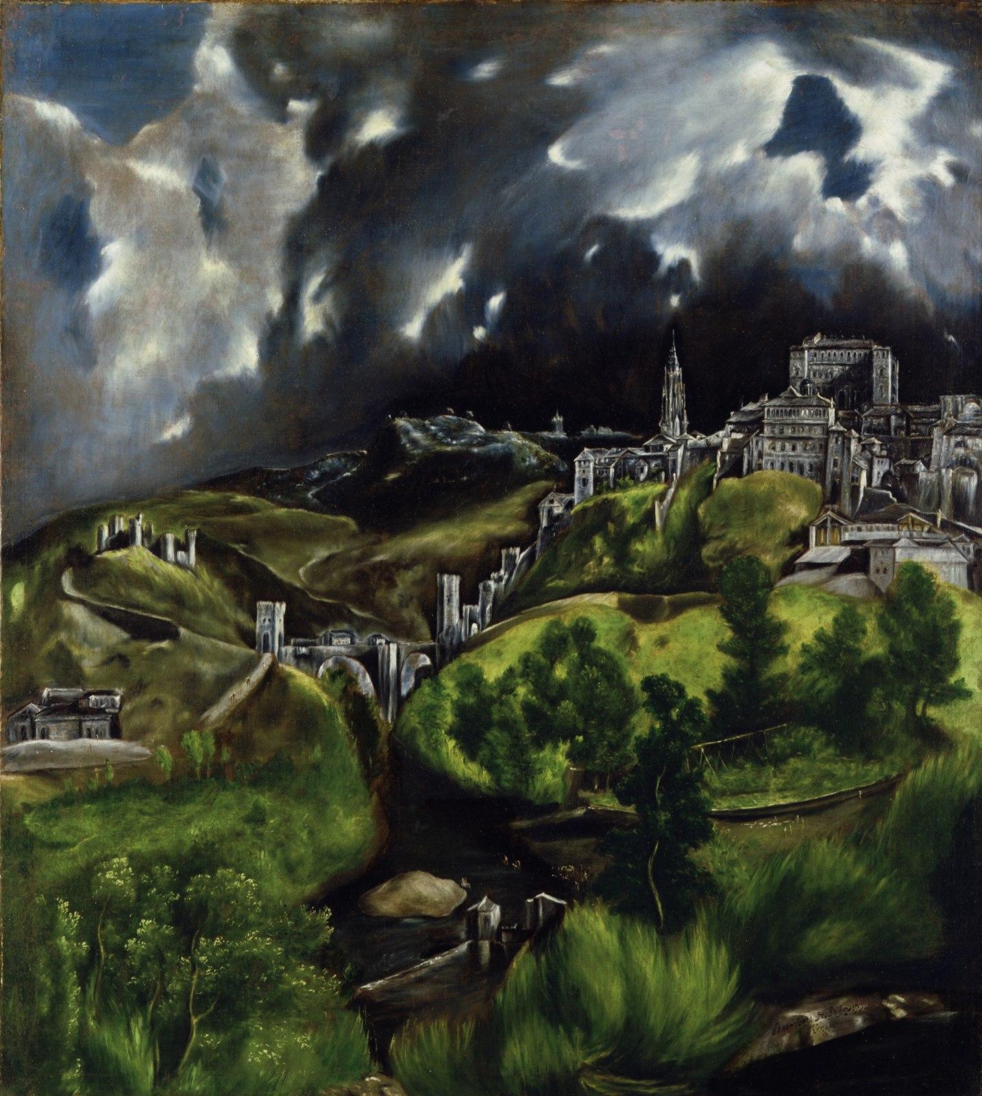 Vista de Toledo. Metropolitan Museum of Art, New York