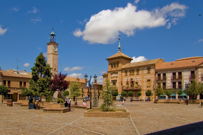 Plaza de España, Consuegra