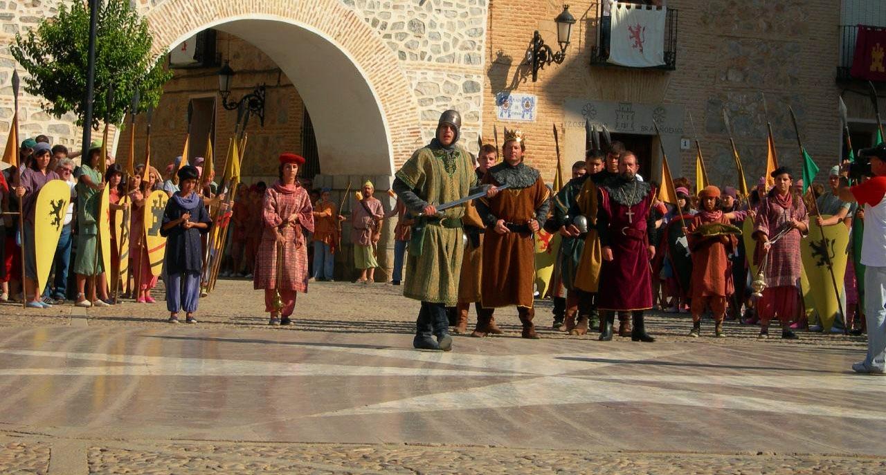 Recreación histórica durante Consuegra Medieval