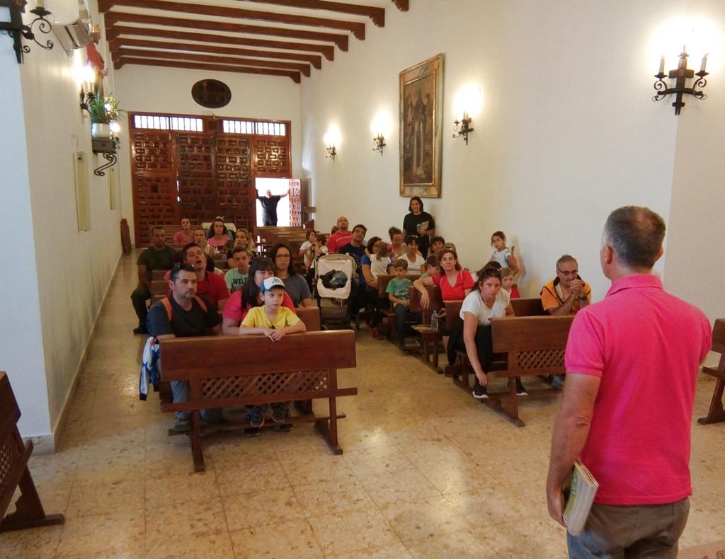Fuenllana visita guiada ecoturismo sabersabor turismo en La Mancha ruta senderismo