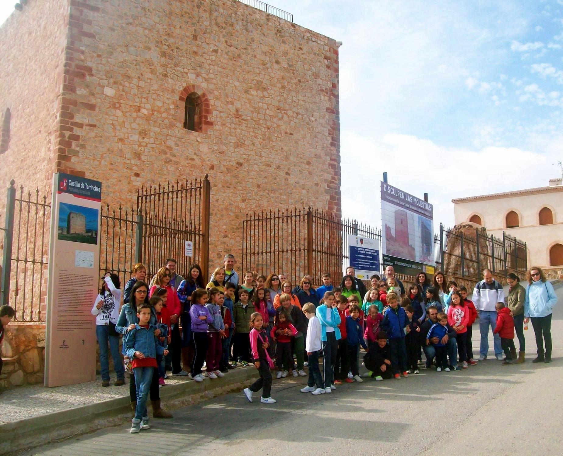 Terrinches y las Hoces del Gongares castillo Orden Santiago