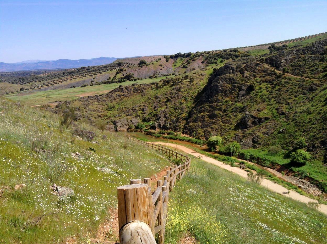 Terrinches y las Hoces del Gongares senderismo Campo de Montiel Sabersabor.es