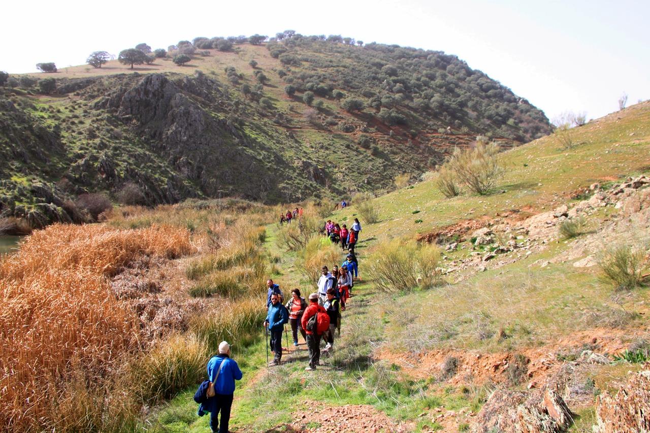 Terrinches y las Hoces del Gongares senderismo Campo de Montiel