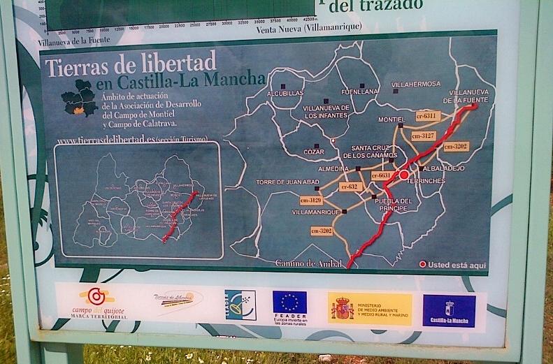 camino Aníbal Campo de Montiel ecoturismo sabersabor