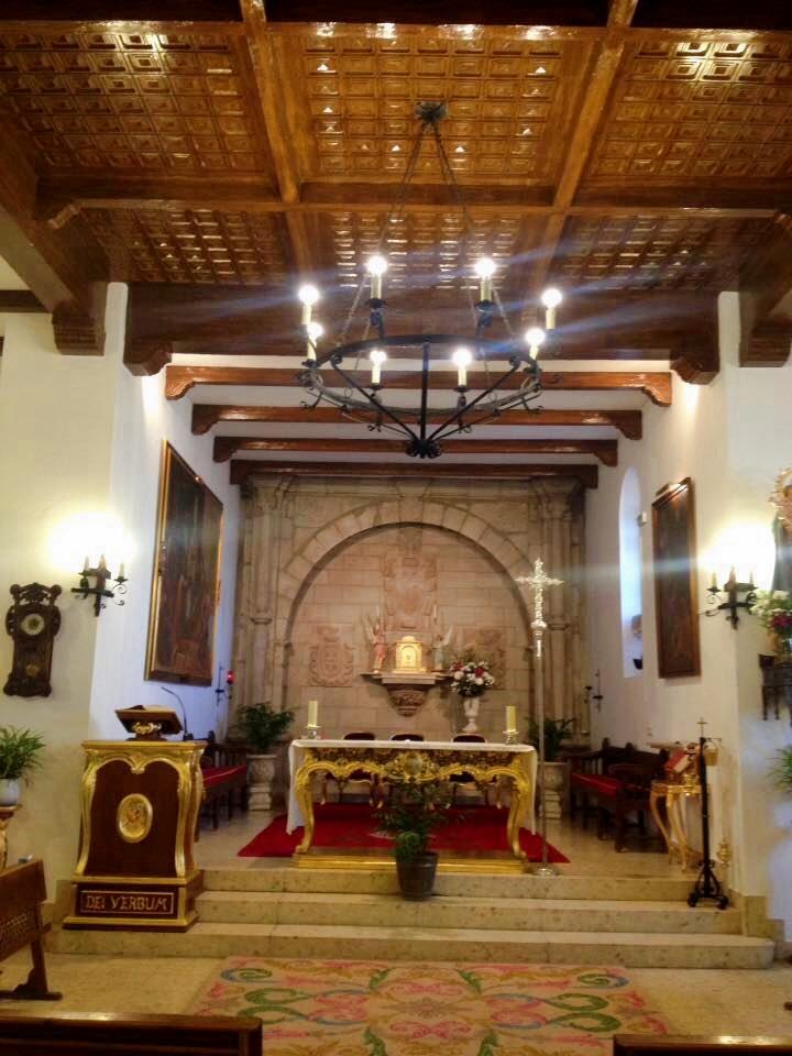 Arco retablo de la capilla de san Pedro, Fuenllana