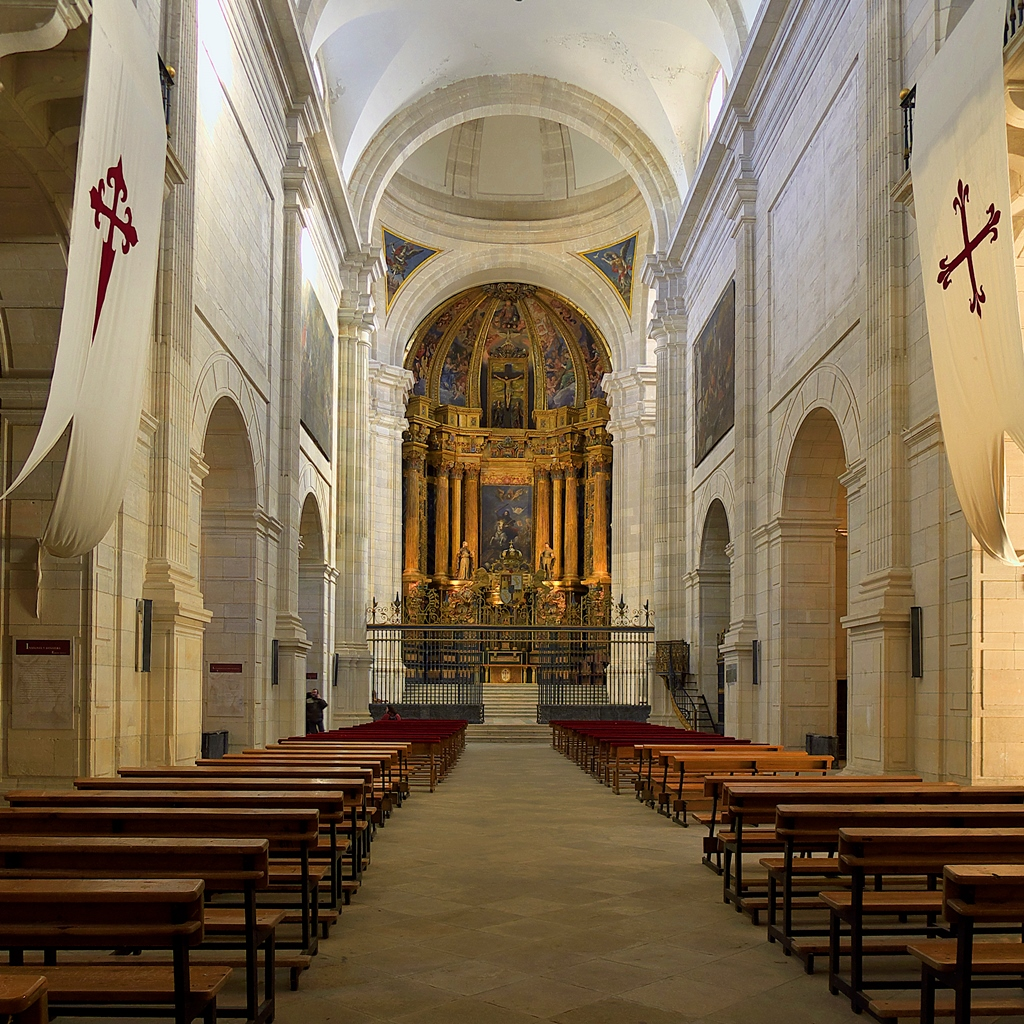 Interior de la iglesia del Monasterio de Uclés