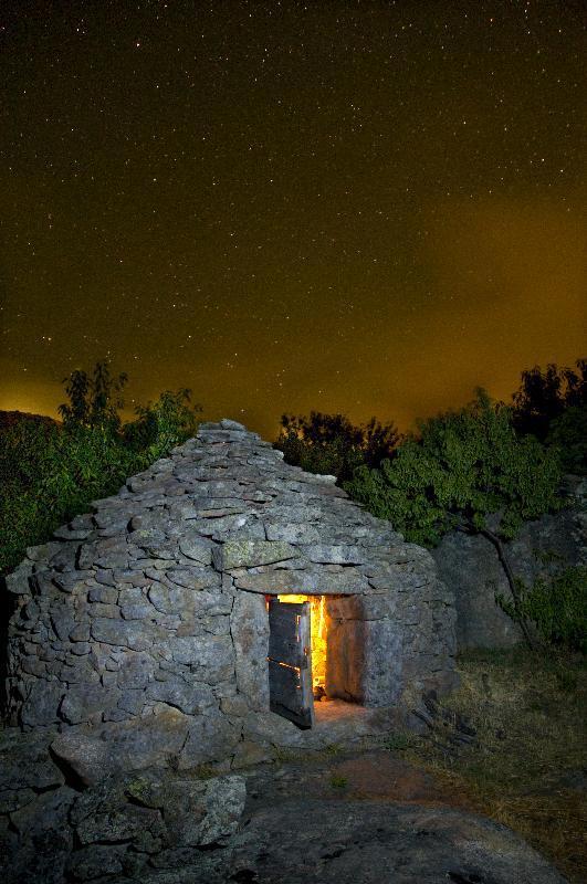 Noche de pastores en el chozo