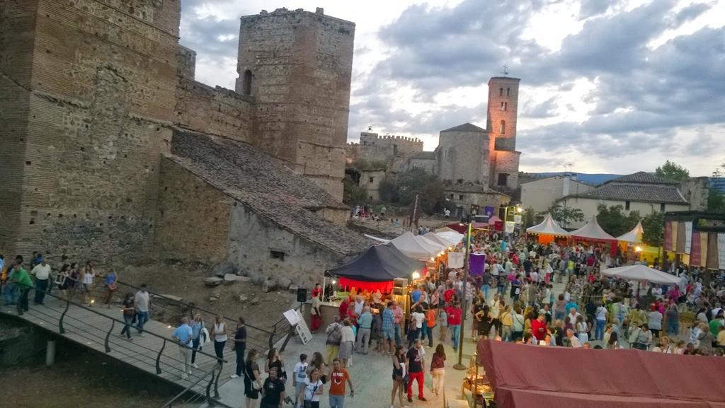 Mercado de la Feria Medieval de Buitrago