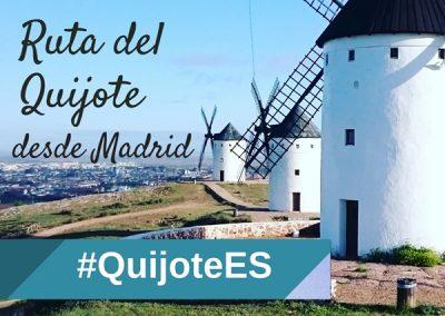 Ruta del Quijote de 1 día desde Madrid en autobús