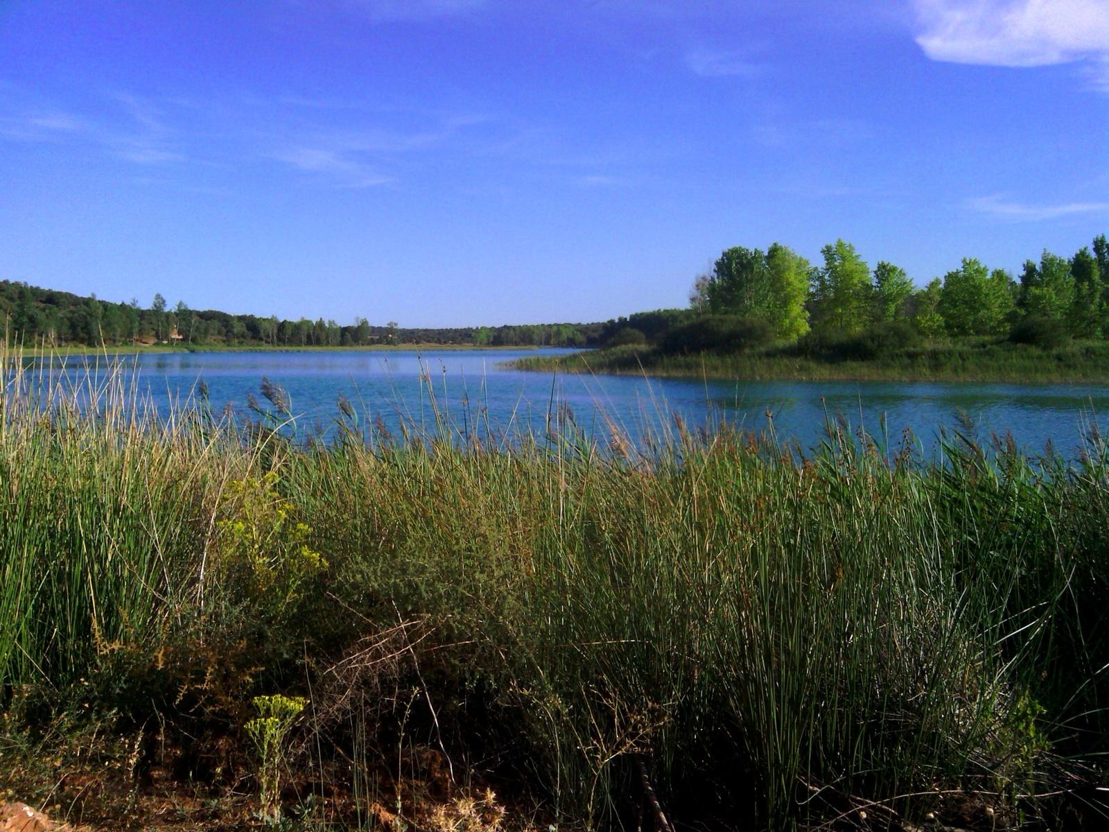 Laguna Conceja y río Pinilla, en Ruidera