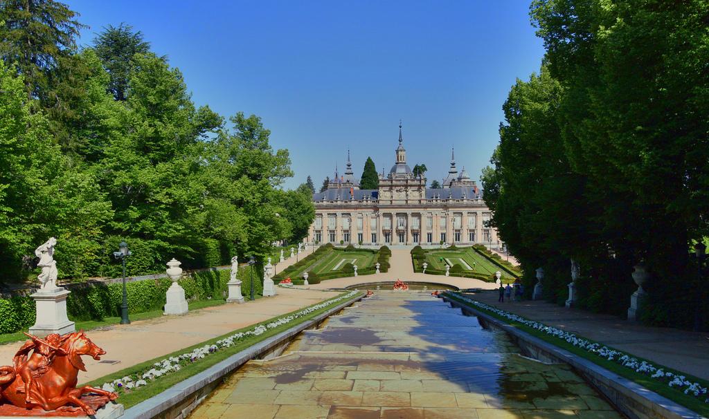 San Ildefonso y el palacio real de La Granja, el Pequeño Versalles del Rey (1ª parte)