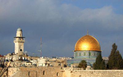 Tierra Santa y Jerusalén, la ciudad de la Alegría de Dios