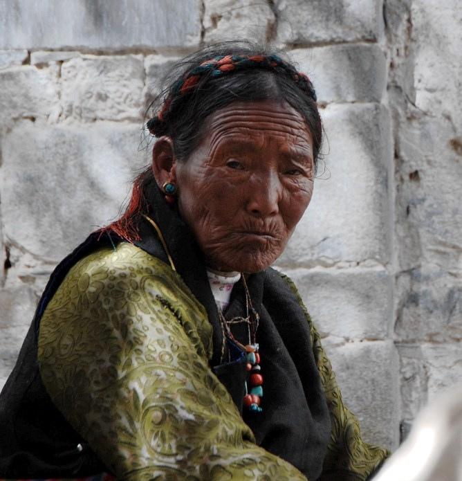3. Mujer tibetana en Lasha