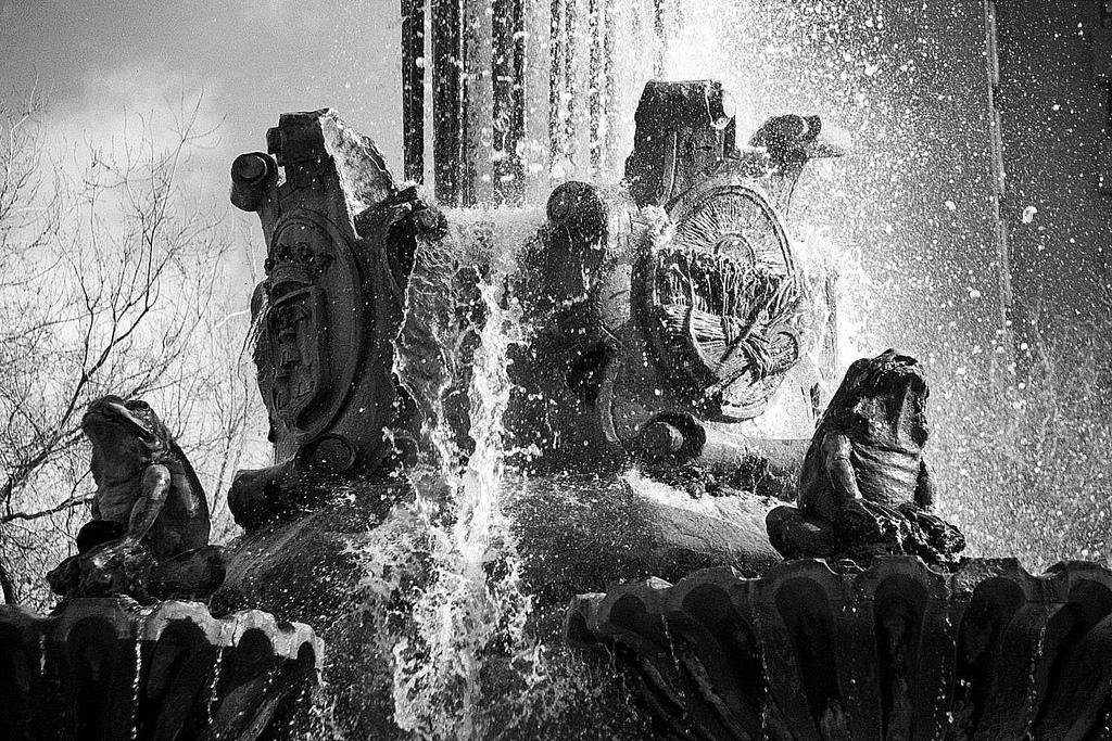 Fuente de las ranas. Albacete. Autor, Gabriel Villena