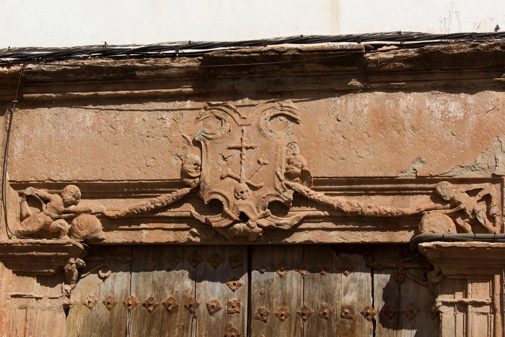 Pórtico de la Casa de la Inquisición. Villanueva de los Infantes. Autor, Rafa