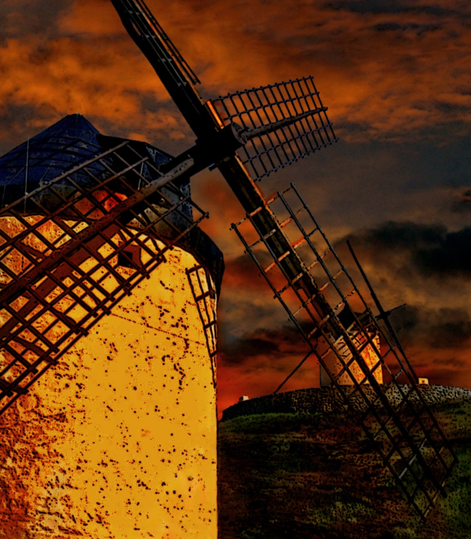 De molinos. Autor, Mario Lapid