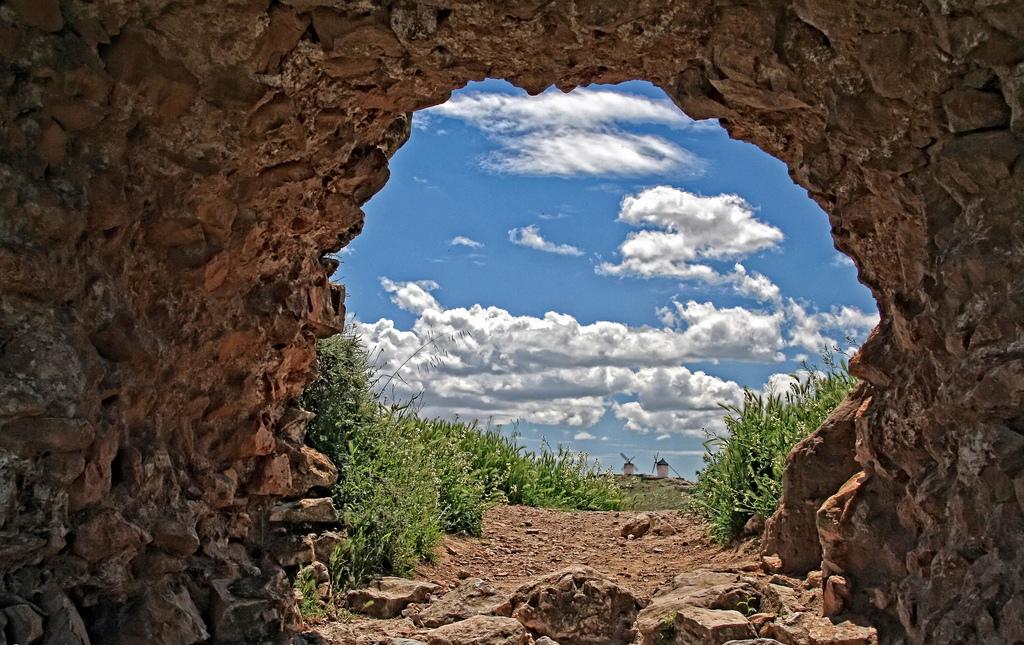 Entrada a La Mancha. Autor, José Rodríguez