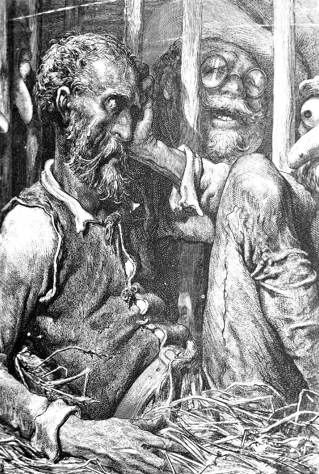 Ilustración del Quijote. Obra de Gustavo Doré (1832-1883)