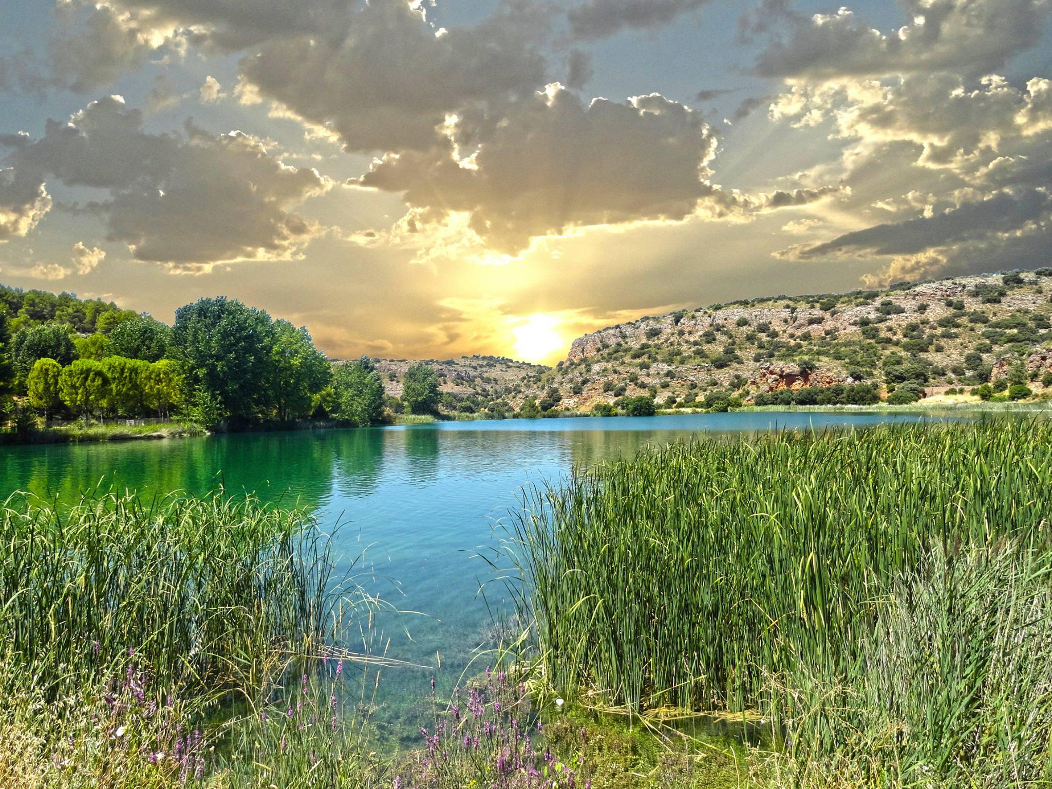 Atardecer en las Lagunas de Ruidera. Autor, josebl