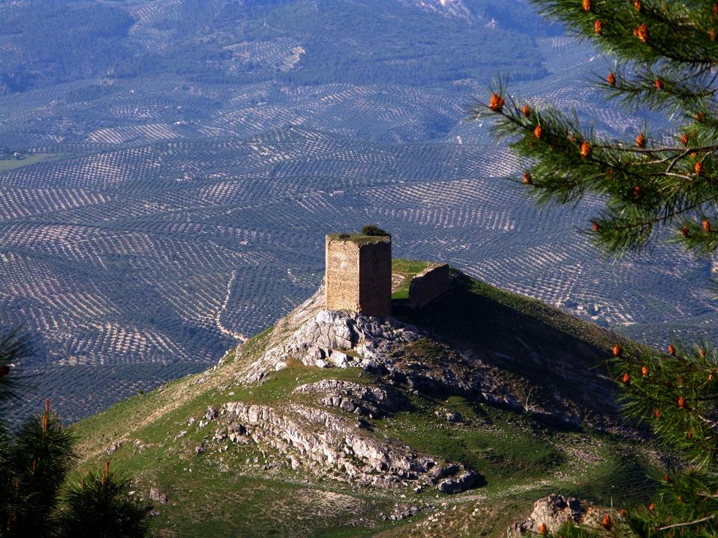 Torreón del Castillo de las Cinco Esquinas. Autor, Ángel Antonio Gómez