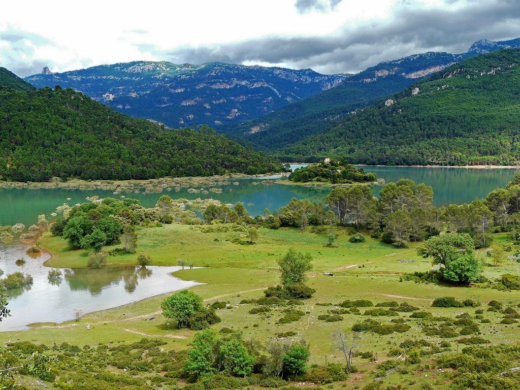 Vista del Parque natural de las Sierras de Cazorla, Segura y Las Villas. Autor, Federico Vaz