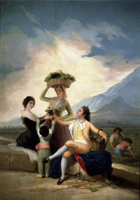 La vendimia, o El Otoño. Francisco de Goya y Lucientes. 1786