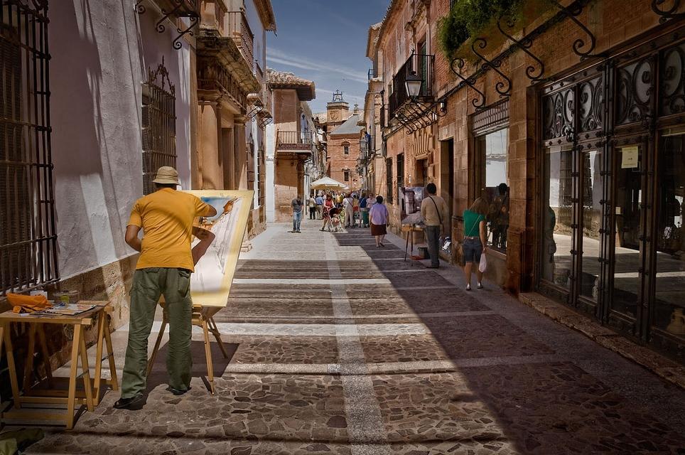 Paseando por Villanueva de los Infantes. Autor, Jose Antonio Gimenez López
