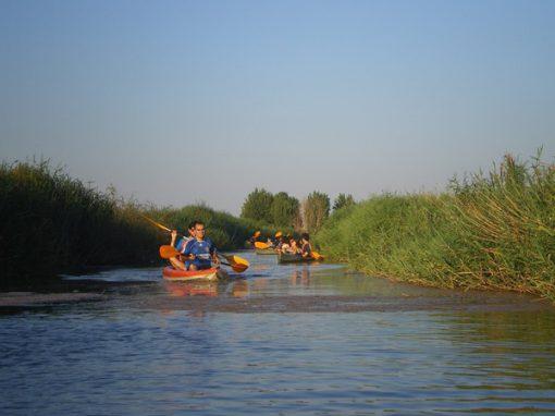 Canoa por las Tablas de Daimiel y Lagunas de Ruidera