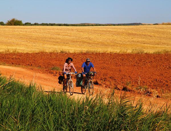 Ruta del Quijote en bicicleta en el Campo de Montiel