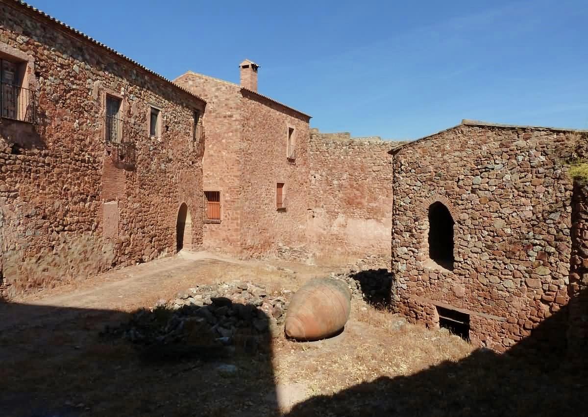 Interior del Castillo de Montizón, Villamanrique