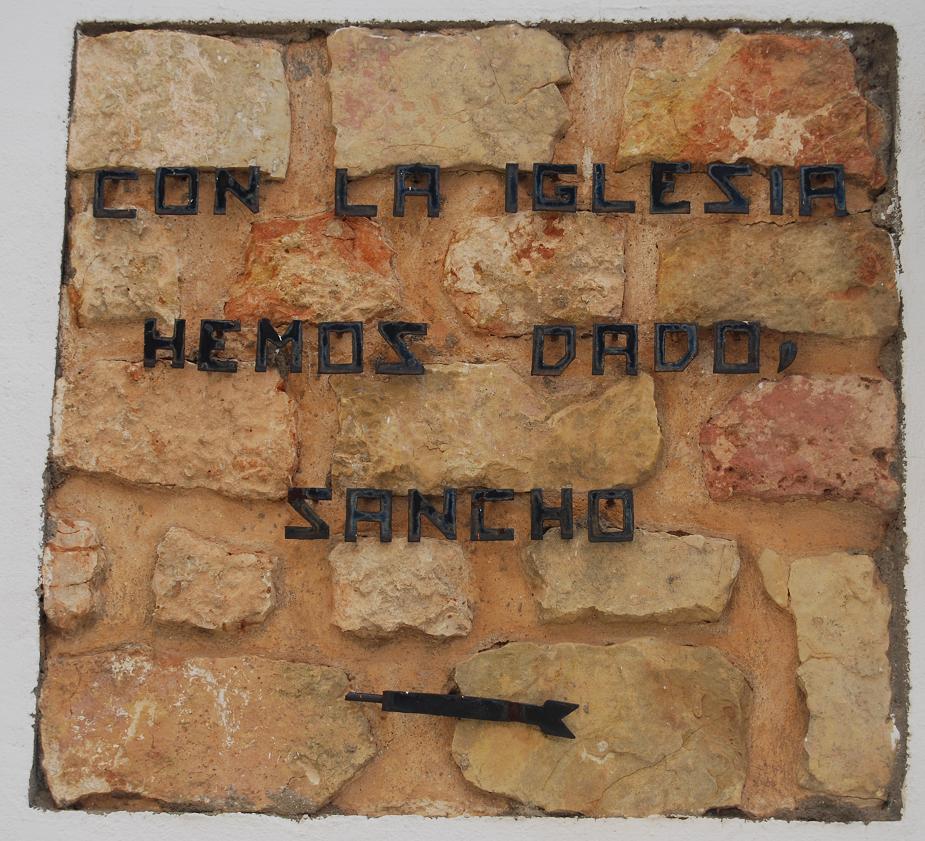Cita del Quijote. Ruta literaria de El Toboso