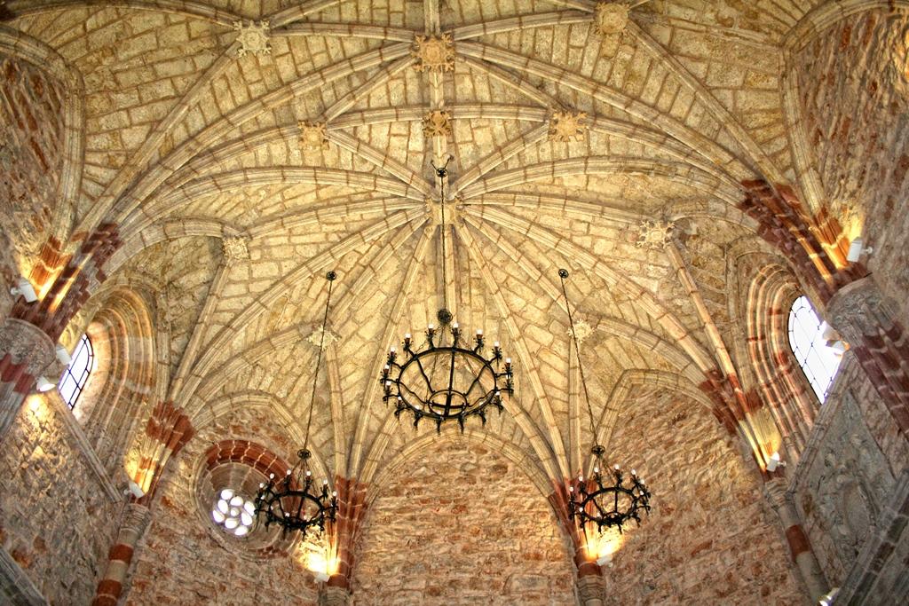 Interior de la iglesia de Villahermosa, Ciudad Real