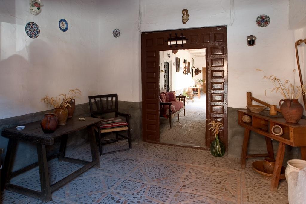 Zaguán de la Casa de la Pirra, Villanueva de los Infantes