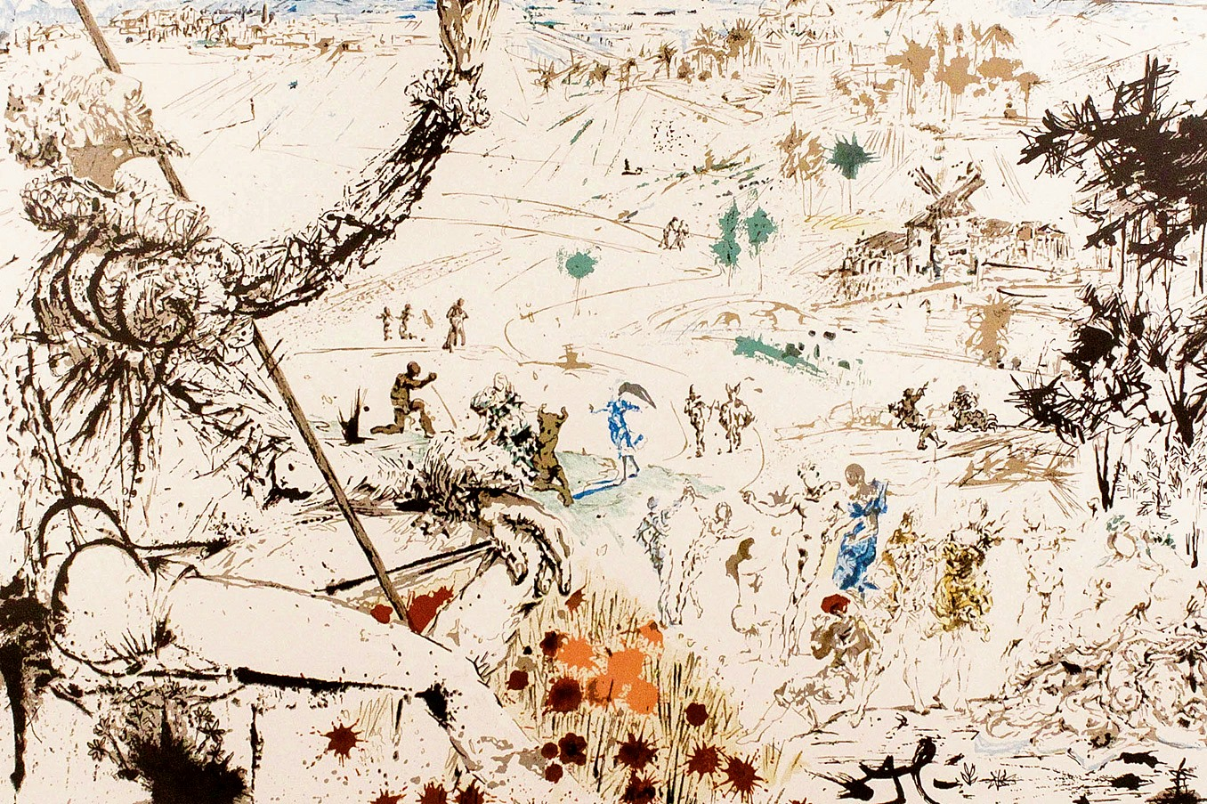 Quijote Salvador Dalí