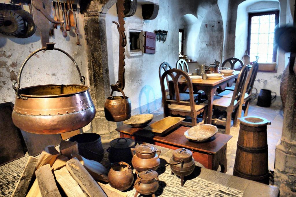 Cocinas en época de Cervantes