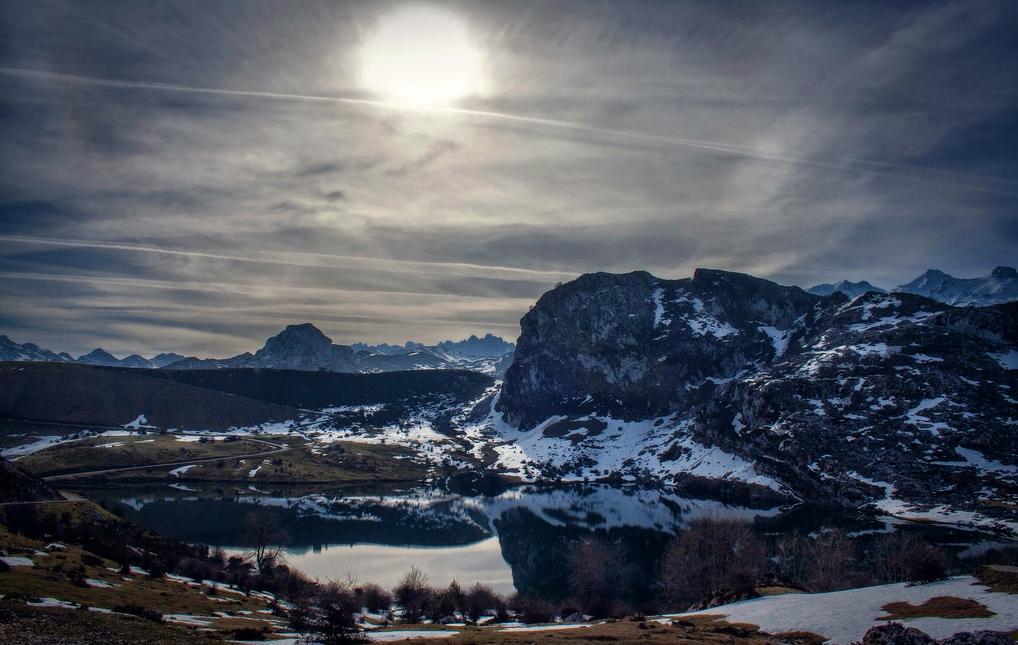 Invierno en Covadonga