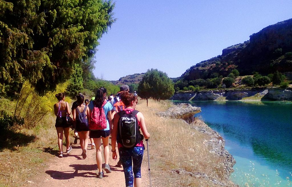 Senda del Pie de Enmedio, Parque Natural de las Lagunas de Ruidera ecoturismo senderismo turismo sostenible sabersabor La Mancha Ciudad Real Lengua