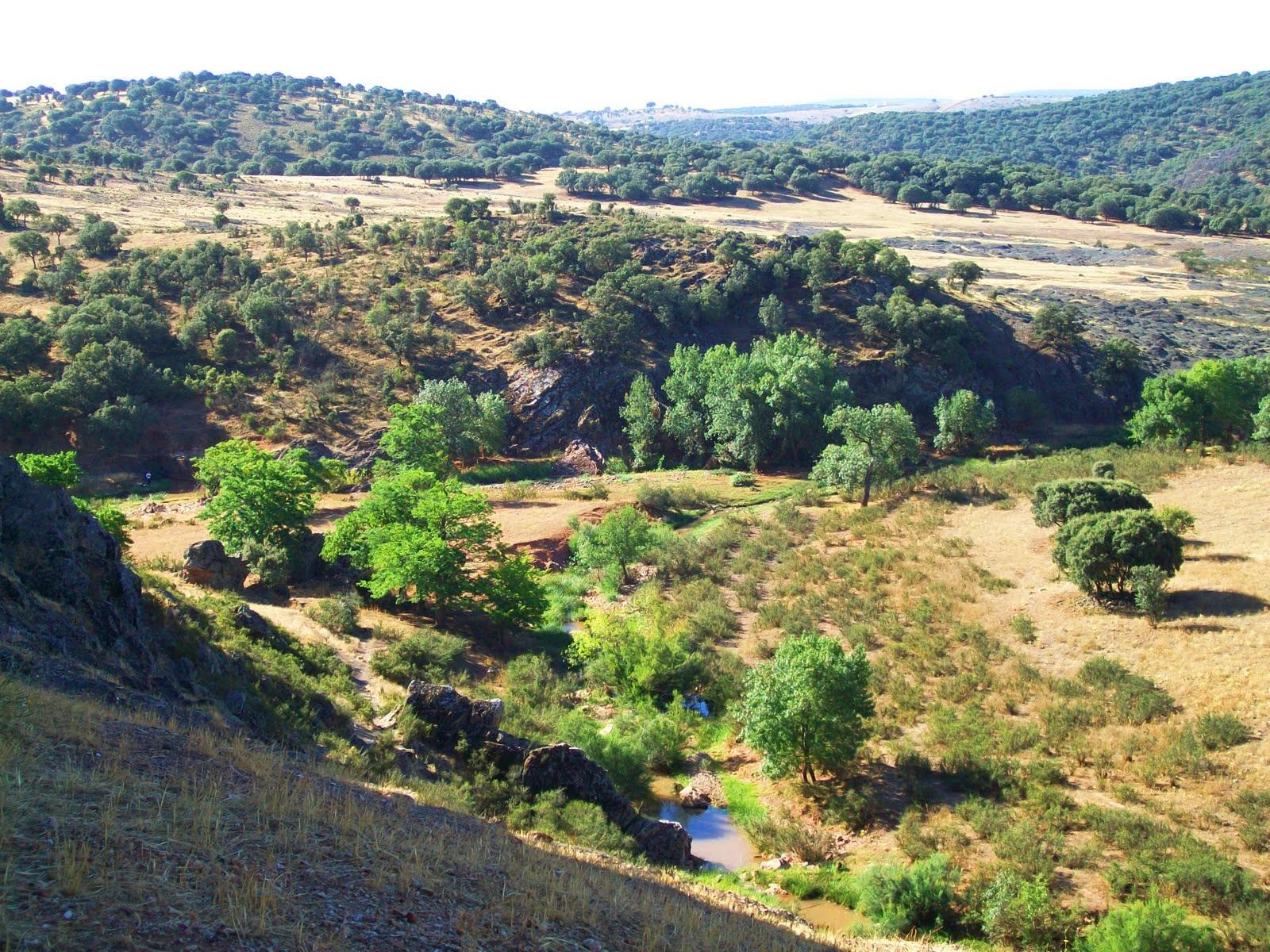 Santa Cruz de los Cáñamos y el río Guadalén ecoturismo ruta senderismo interpretativo naturaleza sabersabor.es turismo familiar
