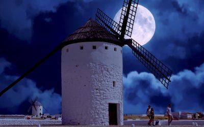 Una de gigantes… molinos de viento de La Mancha