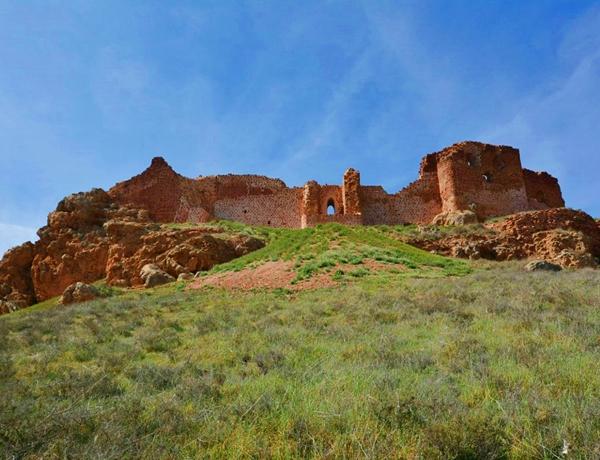 Castillo de La Estrella en Montiel