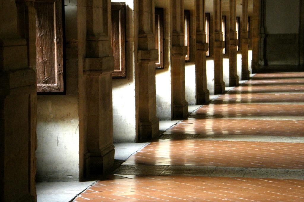 Claustro superior del Monasterio de Uclés