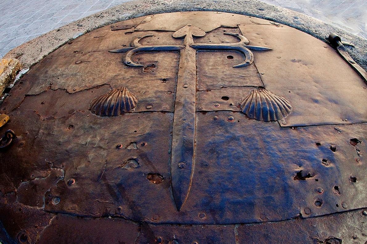Cruz de la Orden de Santiago en Uclés