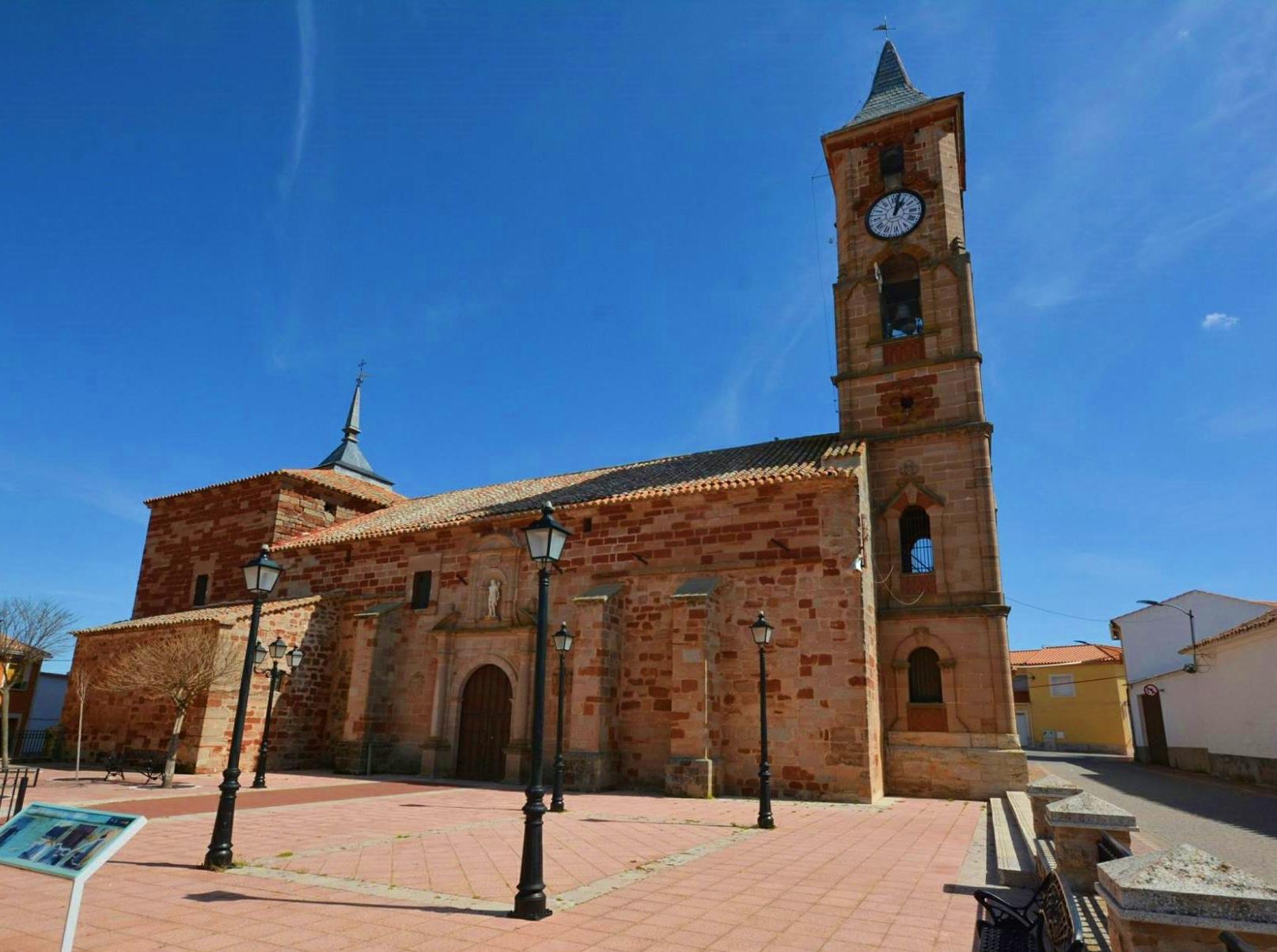 Iglesia de San Sebastián, Montiel. Autor, Juan Amores